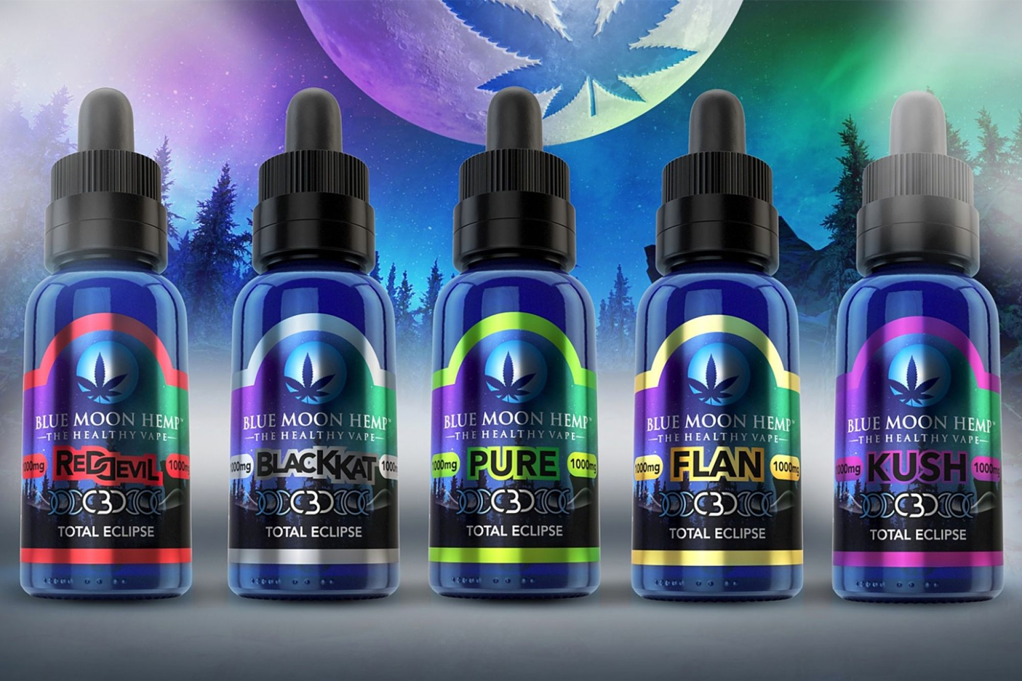 Blue Moon Hemp cbd vape juice review 2021