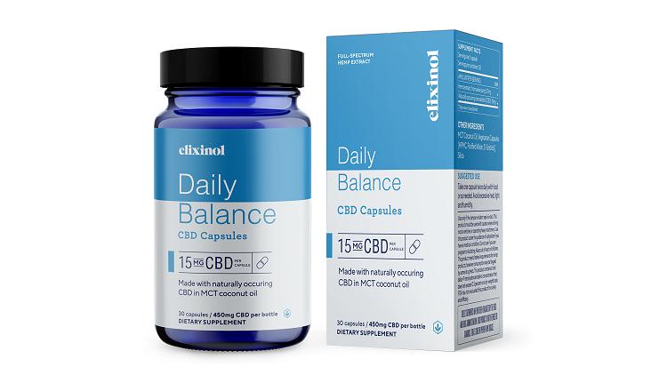 Elixinol CBD capsules coupons review 2021