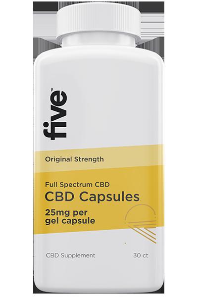 full spectrum five cbd capsules review 2021