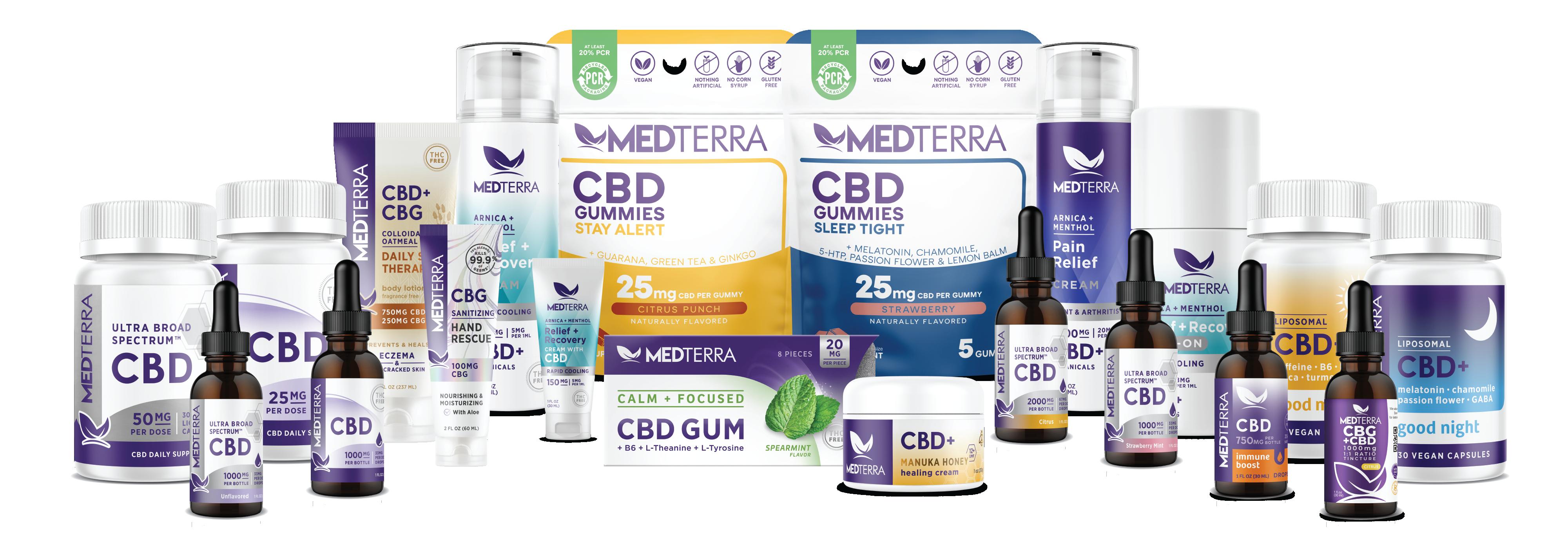 Medterra CBD capsules oil review 2021